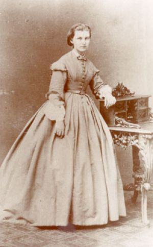 Julie Schumann at the age of 20