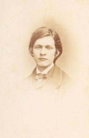 Ludwig Schumann at the age of 16