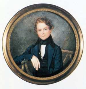 Robert Schumann (1810 - 1856), aged about 16