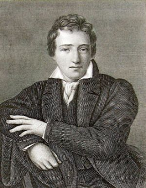 Heinrich Heine at the age of 34