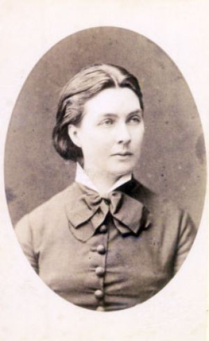 Marie Schumann at the age of approx. 30 years.