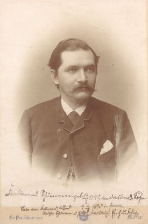 Ferdinand Schumann at the age of 40