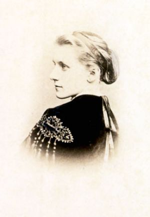 Julie Schumann at the age of 21