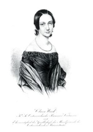 Clara Wieck later married Schumann