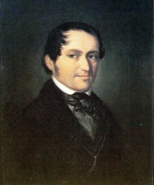Friedrich Wieck at the age of 45