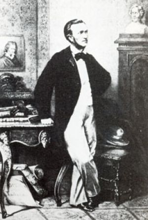 Richard Wagner at the age of 57
