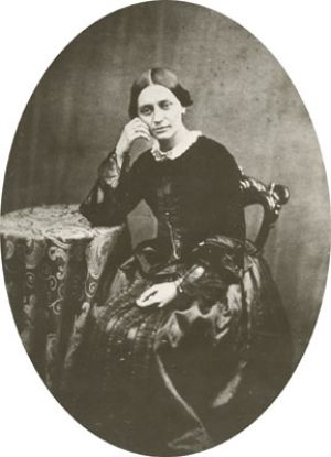 Clara Schumann at the age of 35