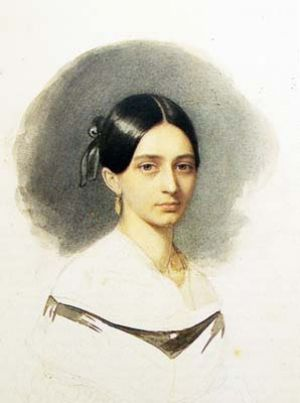 Clara Wieck at the age of 20