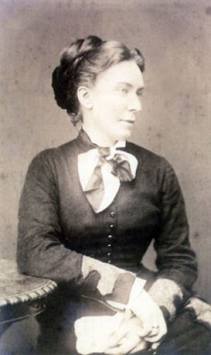 Elise Schumann at the age of 30