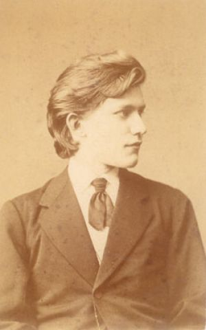 Felix (1854 - 1879) at the age of 18