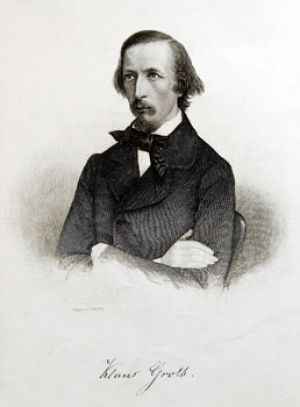 Klaus Groth at the age of 40