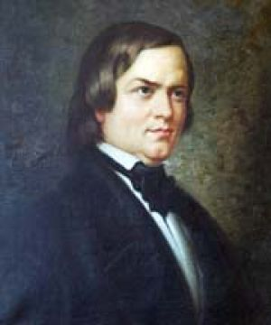 Robert Schumann, copy after a painting by C. Jäger (1871), permanent loan from Bonn Municipal Museum