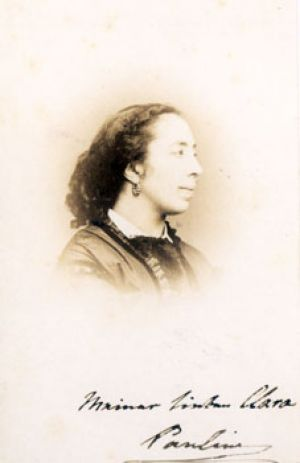Pauline Viardot-Garcia at the age of 45