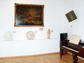 "A look at exhibition room ""History of Music in Bonn"" in the museum building atFranziskanerstraße"
