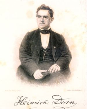 Heinrich Dorn at the age of 50
