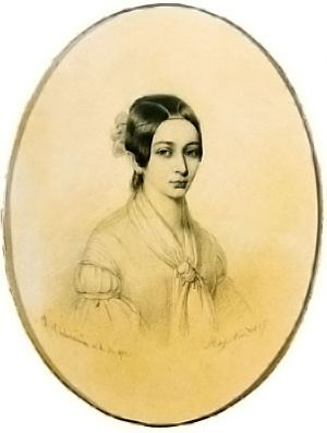 Clara Wieck at the age of 18