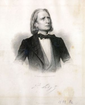 Franz Liszt at the age of 48