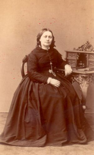 Clara Schumann at the age of 47